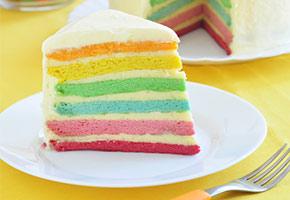 Regenbogenkuchen Rezept