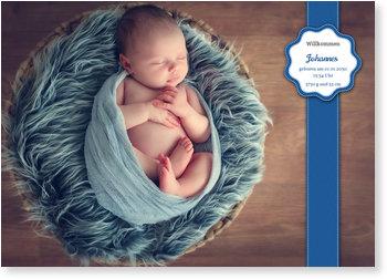 Geburtskarten, Baby-Sticker