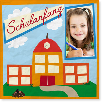 Einladungskarten Einschulung, Schulanfang