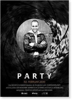 Einladungskarten Geburtstag, Partyagent