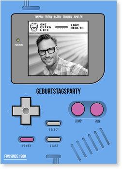 Einladungskarten Geburtstag, Partygame