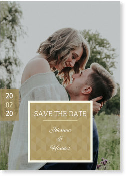 Save the Date Karten, Apart