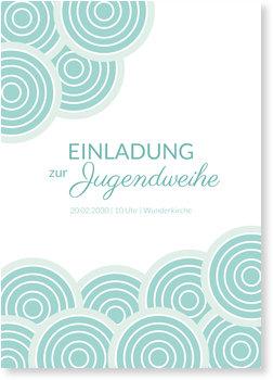 Einladungskarten Jugendweihe, Wolkenreich
