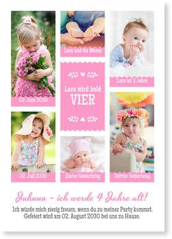 Einladungskarten Kindergeburtstag, Bildergalerie