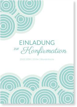Einladungskarten Konfirmation, Wolkenreich