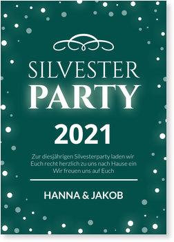 Einladungskarten Party, Partyglanz