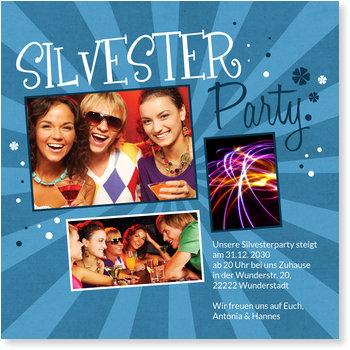 Einladungskarten Party, Time to Party