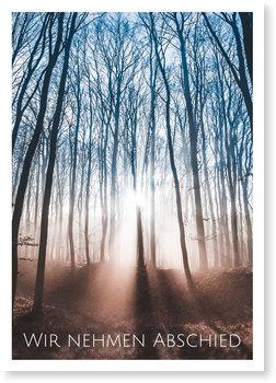 Traueranzeigen online selbst gestalten, Stiller Wald