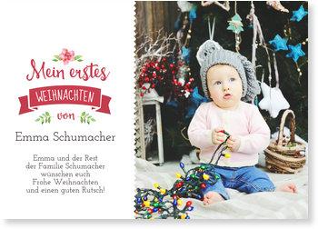 Weihnachtskarten Baby, Banner