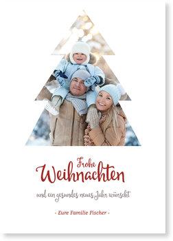 Aktuelle Weihnachtskarten, Bildbaum