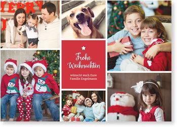 Aktuelle Weihnachtskarten, Bildreich
