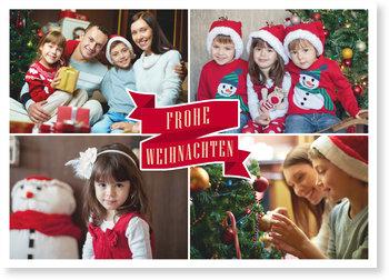 Aktuelle Weihnachtskarten, Weihnachtsbanner