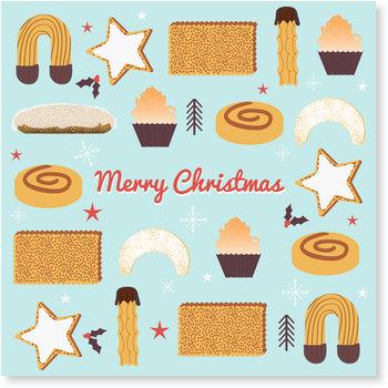 Aktuelle Weihnachtskarten, Weihnachtskekse