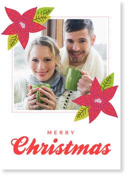 Aktuelle Weihnachtskarten, Weihnachtsstern