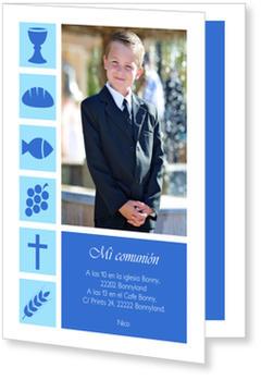 Invitaciones de comunión, Símbolos cristianos