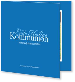 Einladungskarten Kommunion, Elegante Kommunionseinladung