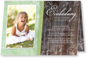 Einladungskarten Kommunion, Wunderbare Kommunion