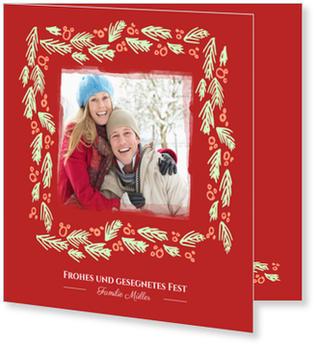 Weihnachtskarten Mit Gutem Zweck.Tannengrün Weihnachtskarten Mit Gutem Zweck