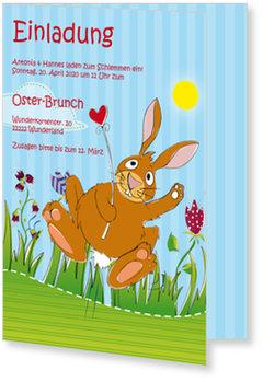 Osterkarten selbst gestalten, Buntes Osterfest