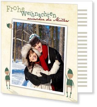 Aktuelle Weihnachtskarten, Wichtelweihnacht