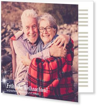 Aktuelle Weihnachtskarten, Fröhliche Weihnachtsternchen