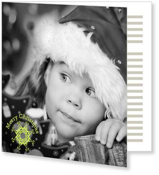 Aktuelle Weihnachtskarten, Kleines Flöckchen
