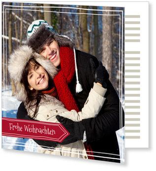 Aktuelle Weihnachtskarten, Nächster Stopp: Weihnachten