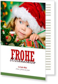 Aktuelle Weihnachtskarten, Große Vorfreude