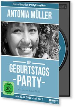 Einladungskarten Geburtstag, Geburtstags-DVD Klassisch