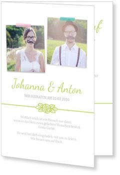Einladungskarten Hochzeit, Rosenblüte
