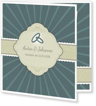 Einladungskarten Hochzeit, Hochzeitssegen