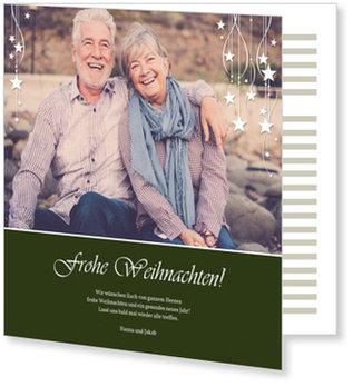 Aktuelle Weihnachtskarten, Sternenweihnacht