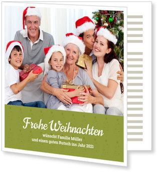 Aktuelle Weihnachtskarten, Tannenreihe