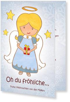 Aktuelle Weihnachtskarten, Engelchen