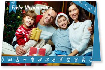 Aktuelle Weihnachtskarten, Geschenkband