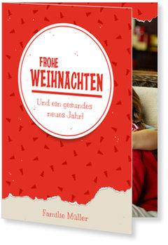Aktuelle Weihnachtskarten, Geschenkpapier