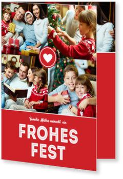 Aktuelle Weihnachtskarten, Herzliche Weihnacht