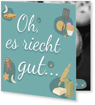 Aktuelle Weihnachtskarten, Keksbande