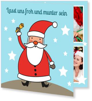 Aktuelle Weihnachtskarten, Kleiner Santa