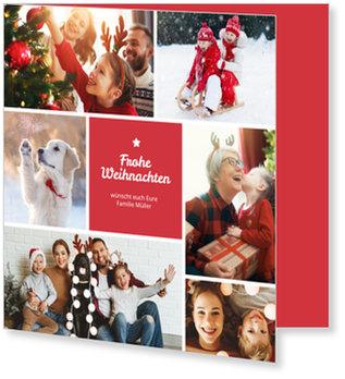 Aktuelle Weihnachtskarten, Kleiner Weihnachtsstern