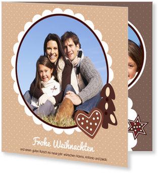 Aktuelle Weihnachtskarten, Lebkuchenparty