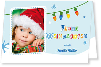 Aktuelle Weihnachtskarten, Lustiger Pinguin