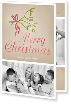 Aktuelle Weihnachtskarten, Mistelzweig
