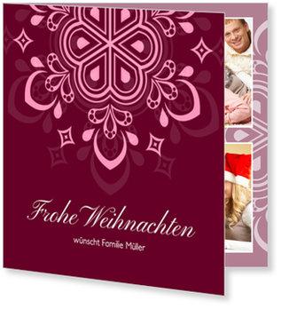 Aktuelle Weihnachtskarten, Ornament