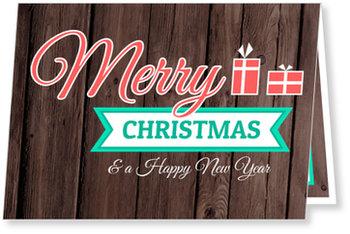 Aktuelle Weihnachtskarten, Retro