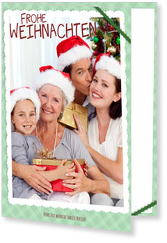 Aktuelle Weihnachtskarten, Weihnachtsscrapbook