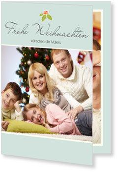 Aktuelle Weihnachtskarten, Stechpalme