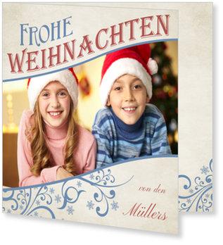 Aktuelle Weihnachtskarten, Weihnachtlicher Schwung