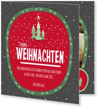 Aktuelle Weihnachtskarten, Weihnachtsbäumchen