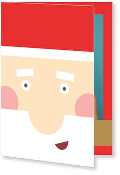Aktuelle Weihnachtskarten, Weihnachtsmann Selfie